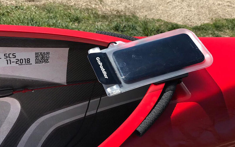 Waterproof Phone Mount for Canoeing